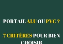 portail alu ou pvc